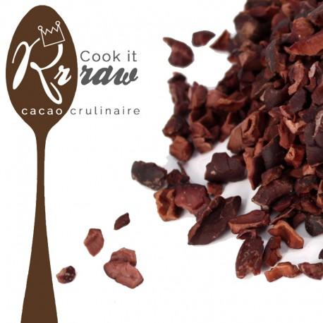 Pépites de cacao cru