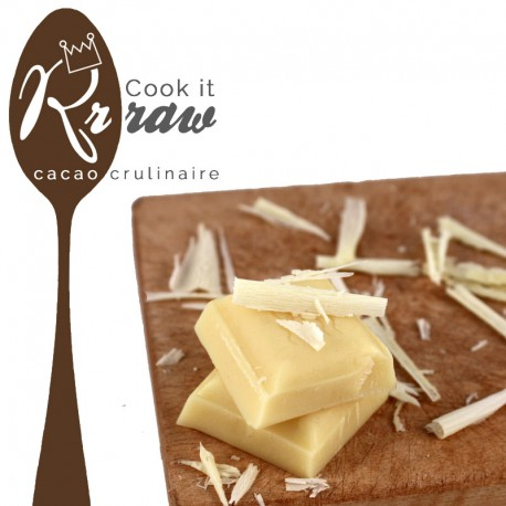 Beurre de cacao cru