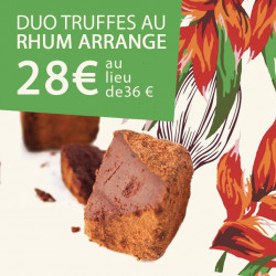 Duo truffes Rhum Arangé