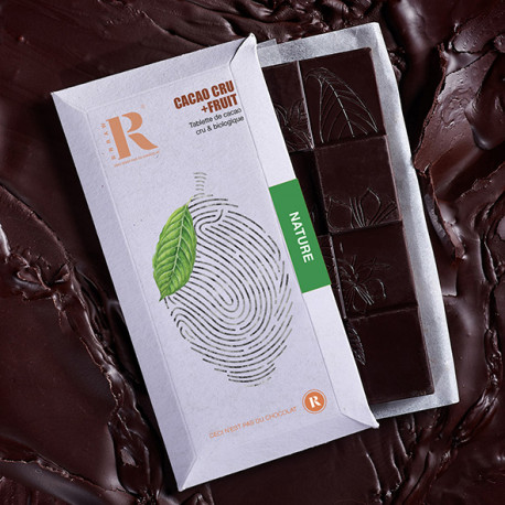 Tablette Cacao+Fruit Nature (45gr)
