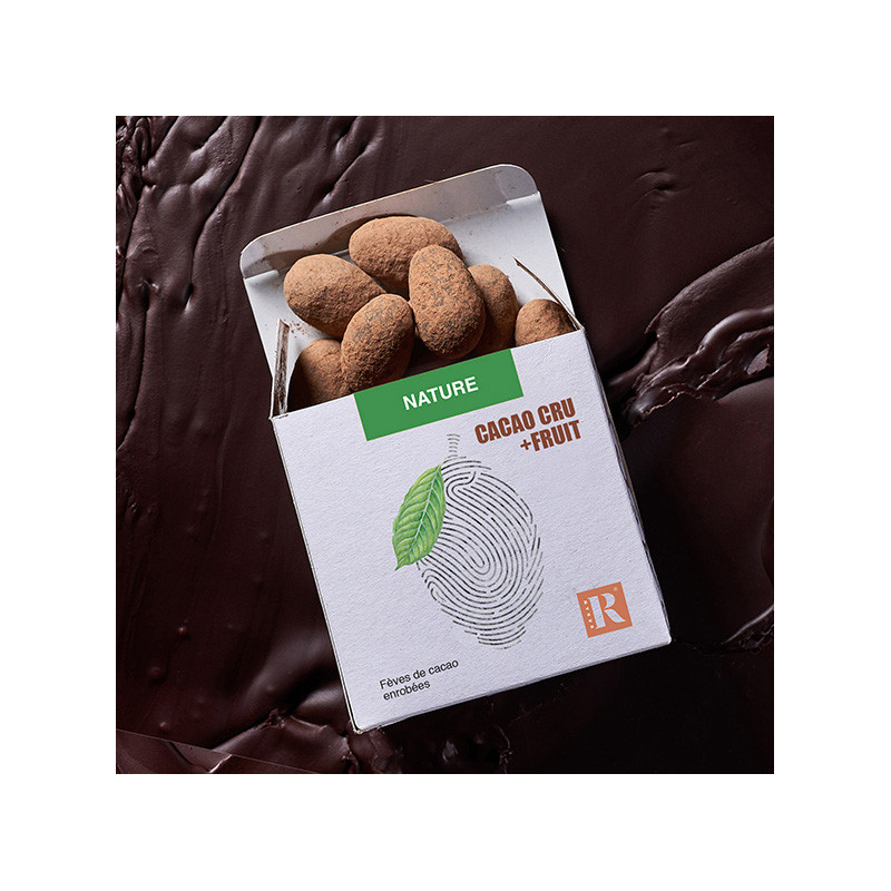 Fèves Cacao+Fruit Nature (80 gr)