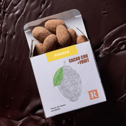 Fèves Cacao+Fruit Ananas (80 gr)