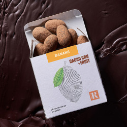 Fèves CACAO+FRUIT Banane (80 gr)