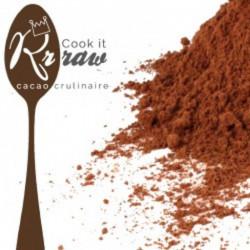 Poudre de cacao cru 100%