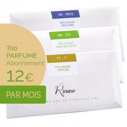 Trio TABLETTES parfumées