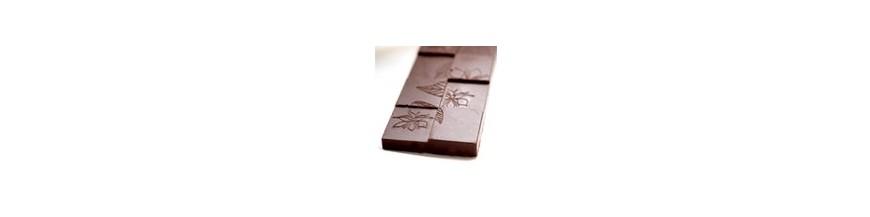 Tablettes de chocolat cru